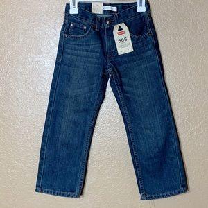 Levi's boys 505 regular jeans